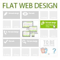 Article Flat Web Design: http://www.htmlcut.com/blog/flat-web-design.html