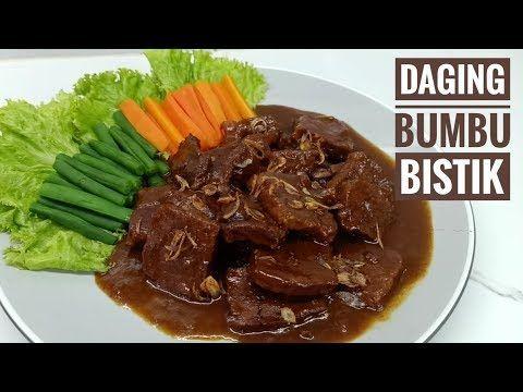 Resep Daging Sapi Bumbu Bistik Youtube Resep Daging Sapi Resep Daging Resep Masakan
