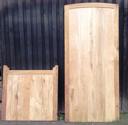 Bespoke garden gates from reclaimed timber