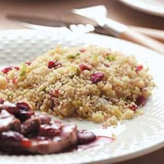 Cranberry Couscous - want to try and see if it's like Texas de Brazil's