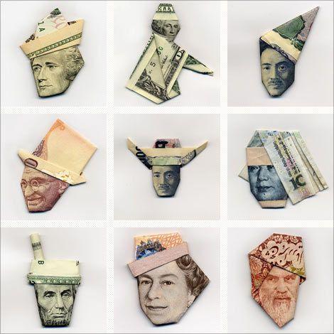 Moneygami: The art of paper money folding