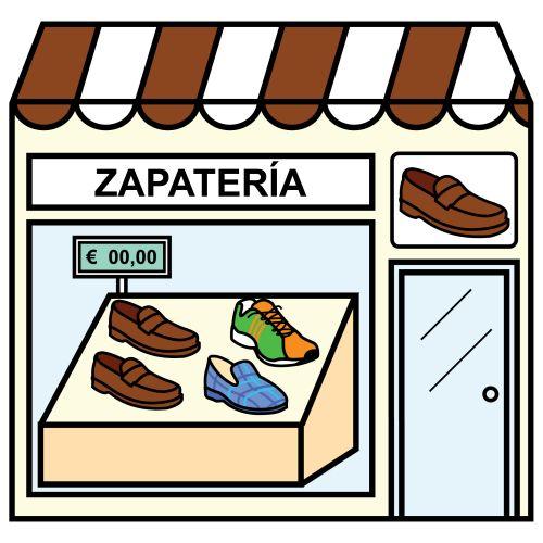 Pictogramas ARASAAC - Zapatería.