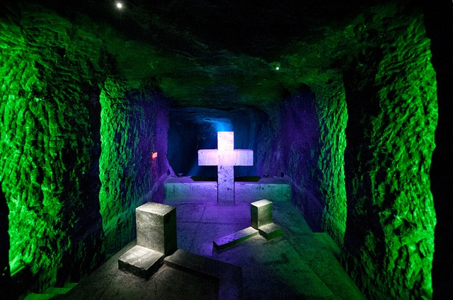 Salt cathedral. Zipaquira, Colombia