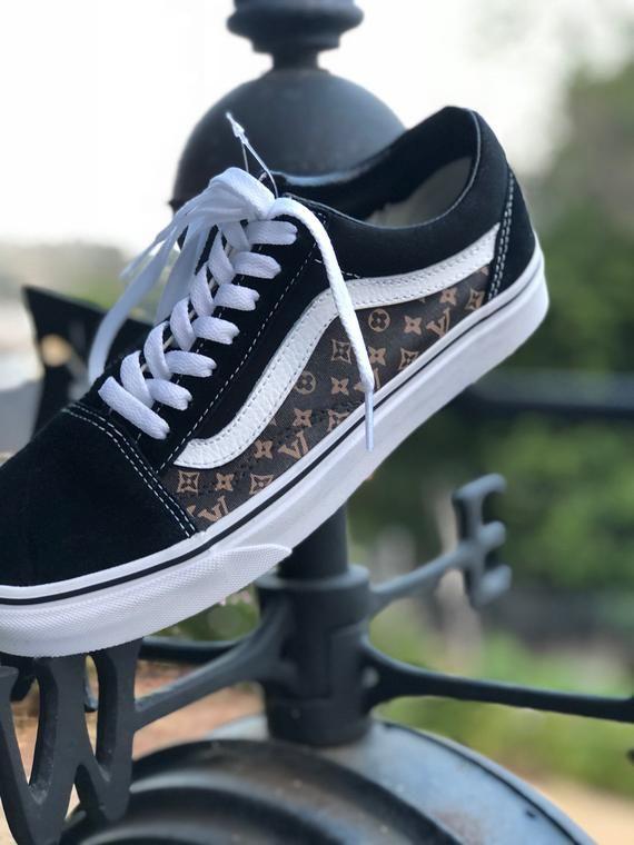 e600c020cdee34 Custom Louis Vuitton Vans Shoes