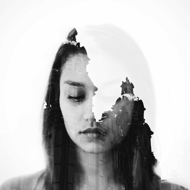 Double exposure can create very interesting layered images