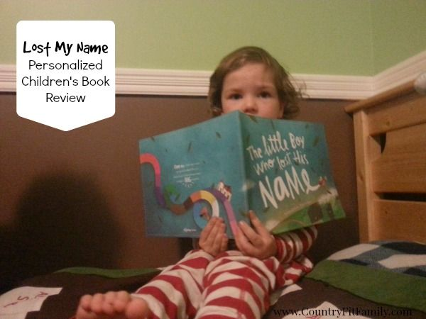 Lost My Name Personalized Children's Book Review