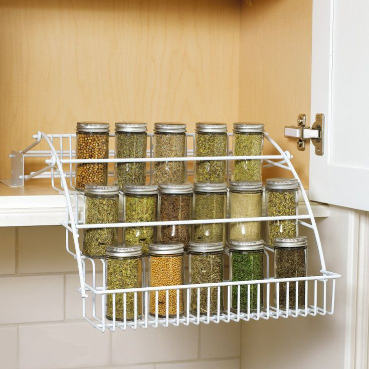 Rubbermaid -- Pull-Down Spice Rack