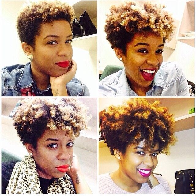 cool natural hair journey