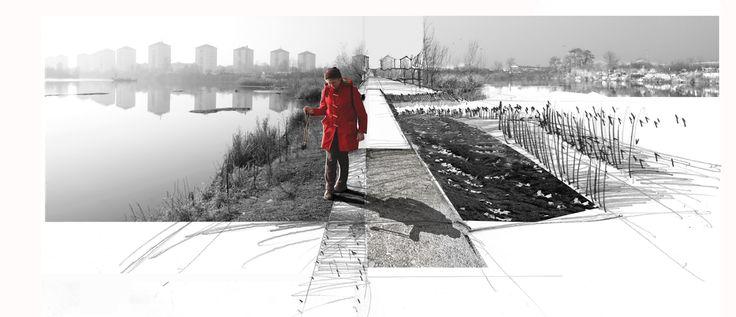 Los integrantes de atelier Le balto son el arquitecto Laurent Dugua, los arquitectos paisajistas Marc Pouzol y Marc Vatinel; y la urbanista Véronique Faucher. En Matadero Madrid diseñaron Avant Gar…