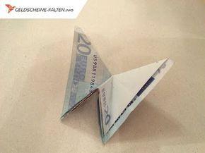 Geldscheine Falten Schmetterling Geldgeschenke Basteln Origami