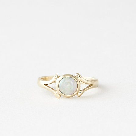 Island In The Moon Opal Ring by TALON