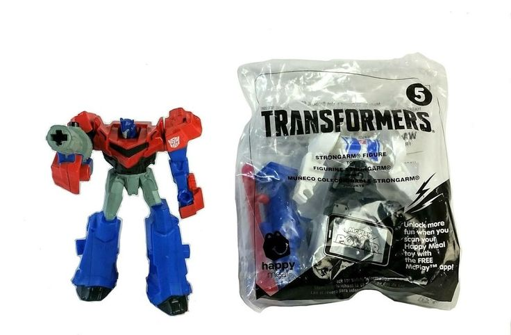 VF & MISP McDonald's Happy Meal Transformers Optimus Prime & Strongarm #5 Toys