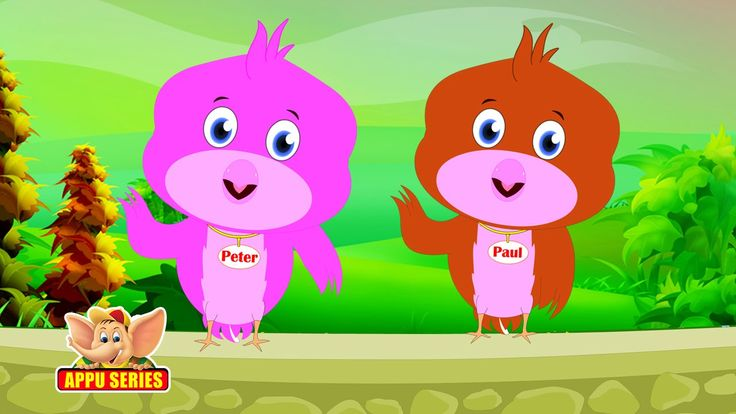 Two Little Dicky Birds - Nursery Rhyme with Karaoke