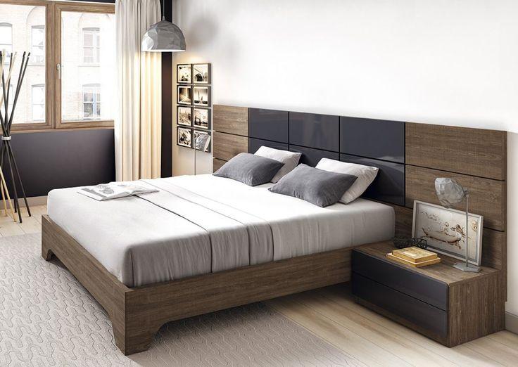 Dormitorio moderno (168 – D29) - Muebles CASANOVA