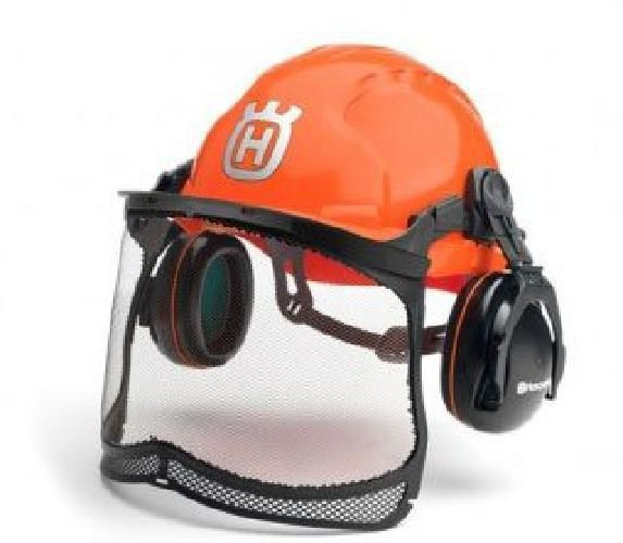 Safety Mesh Helmet Chainsaw Ear Defenders Hard Hat Protective New Fac