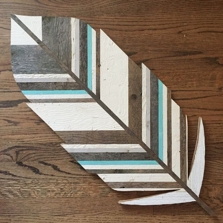 Feather Wall Art -3'