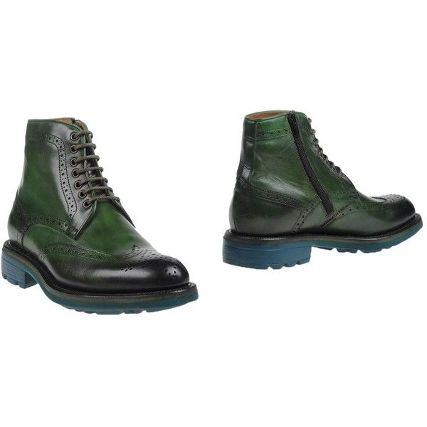 Campanile Ankle Boots ($209) ❤ liked on Polyvore featuring men's fashion, men's shoes, men's boots, green, mens zipper boots, mens leather shoes, mens leather boots, mens zip boots and mens leather zipper boots