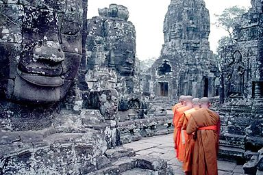 Cambodja; reizen naar eeuwenoude tempelcomplexen