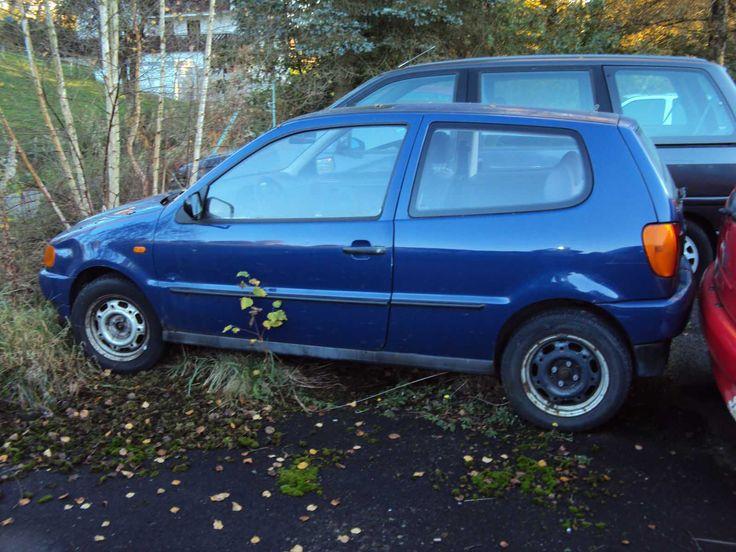 VW Polo 6 N blau 3 türer Fahrer Beifahrer Airback Motorschaden