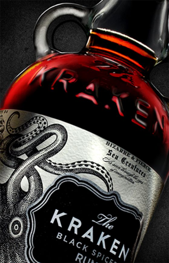 how to make kraken spiced rum