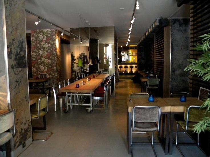 restaurant design - Beaded Inset Restaurant Interior