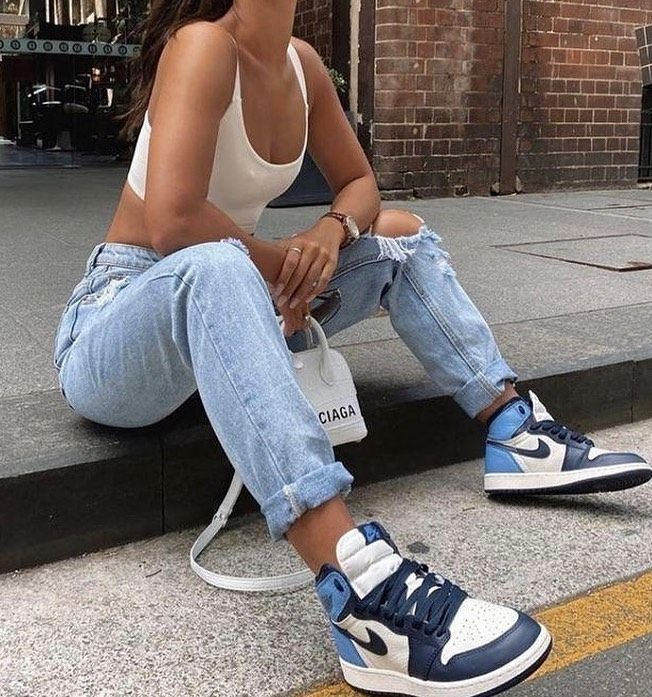 Bitsneakers Es On Instagram Nike Air Jordan 1 Obsidian Por Tan Solo 79 95 Consigue Las Tuyas E Zapatillas De Moda Mujer Moda De Ropa Ropa Juvenil De Moda