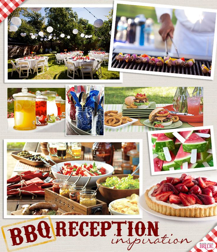 wedding reception with bbq | barbecue check out our bbq reception inspiration bo…