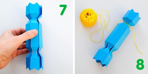 Christmas cracker templates
