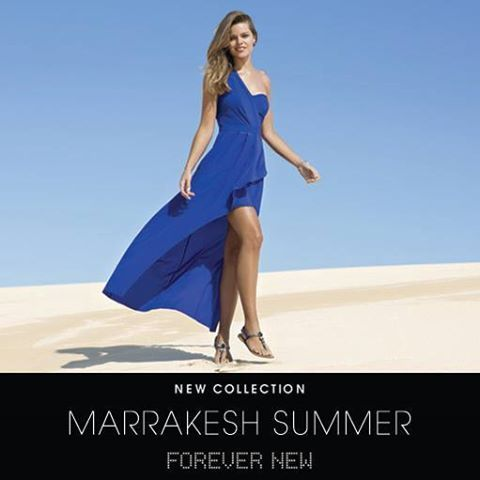 Available to you from selected Edgars Store!  Be transported to exotic Morocco with Marrakesh Summer, the glamorous new collection from Forever New.