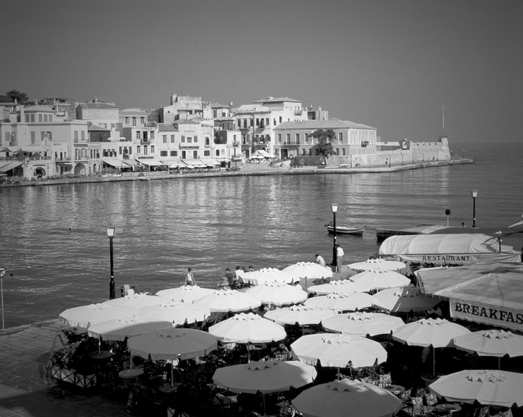 VISIT GREECE| Chania in Black and White, #Crete #Greece