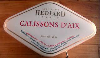 Herkkusuun lautasella-Ruokablogi: Calissons d'Aix