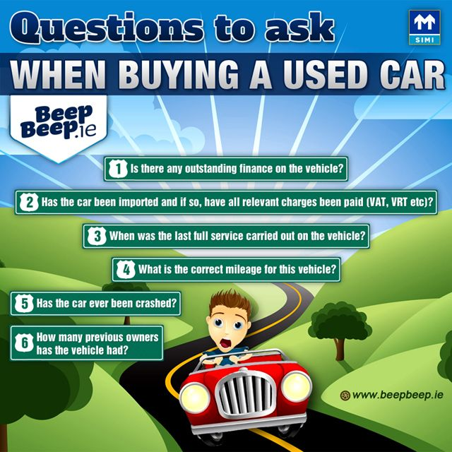Questions To Ask When Buying A Used Car