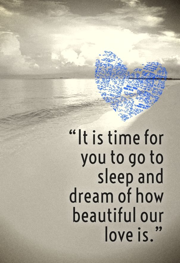 Sweet Dreams Love Quotes for Her