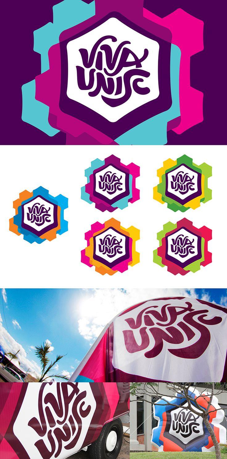 Viva Unisc unisc Logo design, Organic design