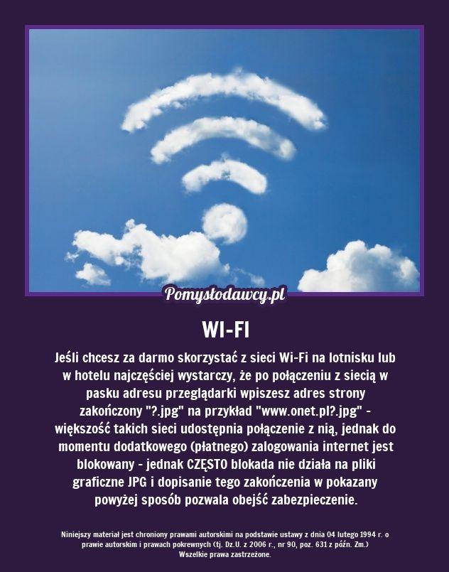 Prosty trik na darmowe Wi-Fi na lotnisku lub w hotelu na wakacjach...