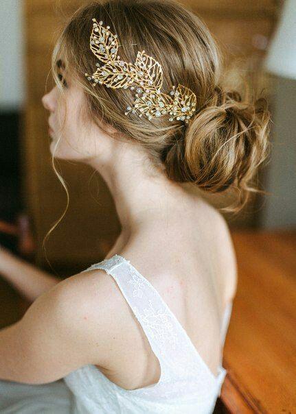 accessoires cheveux coiffure mariage chignon mariée bohème romantique retro, BIJOUX MARIAGE (71)