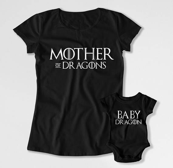 Mother Daughter T Shirt Mommy And Son Matching Outfits Mom Baby Gifts Mothers Day