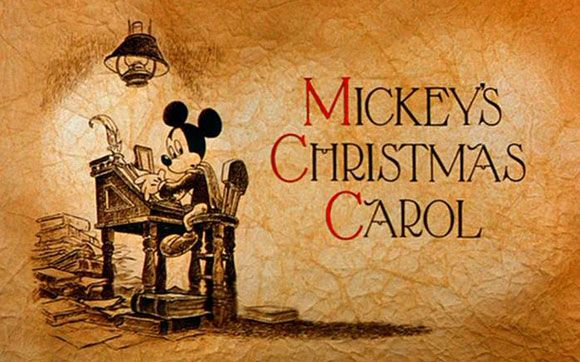 Mickey's Christmas Carol. Had to hunt for this movie on DVD for several years before I finally found it! Before then had to watch the copy my mom taped off TV in 1989.