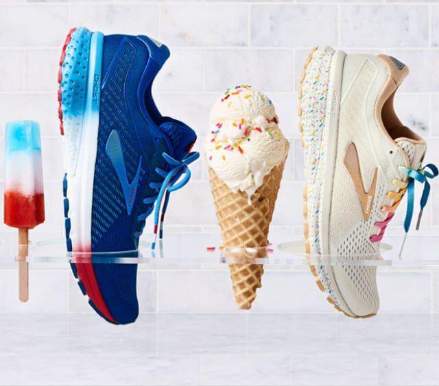 brooks running ice cream