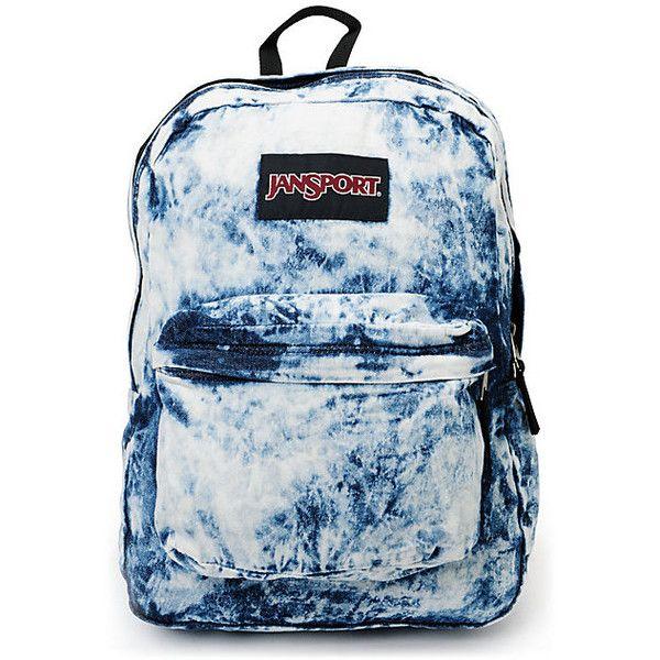 961dbaa36 Discover ideas about Girl Backpacks. Jansport Denim Daze Acid Blue Backpack  at ...