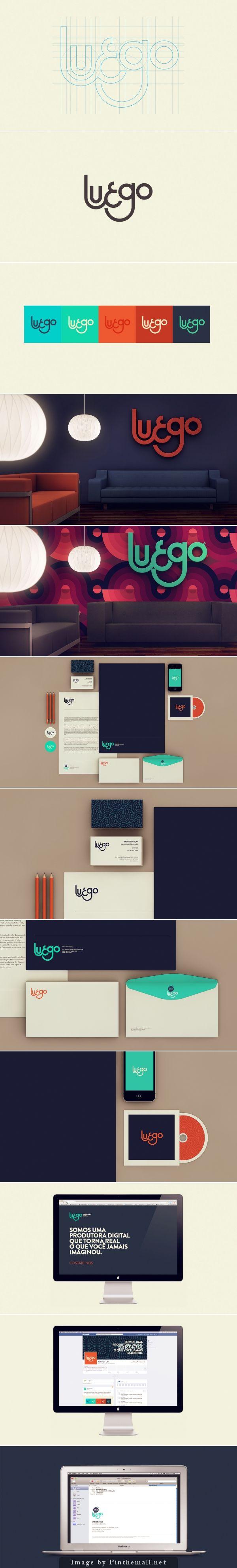 Diseño de Interfaces para medios electrónicos. Luego by Isabela Rodrigues