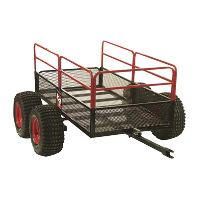 Yukon Tracks Trail Warrior ATV Trailer — 4-Wheels, 1250-Lb. Capacity, Model# TX159