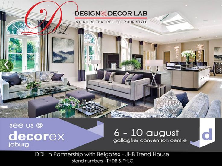Dont forget to join us @ Decorex jhb 2014