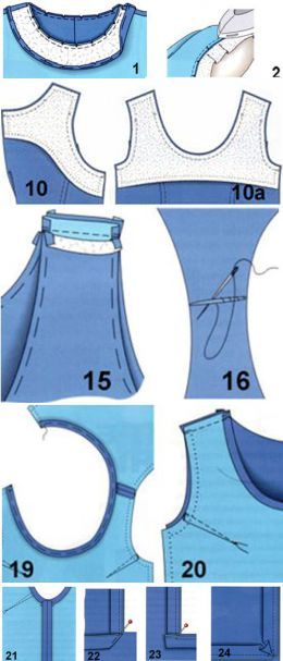 Tips for handling armholes and neck | Tips fashionistas