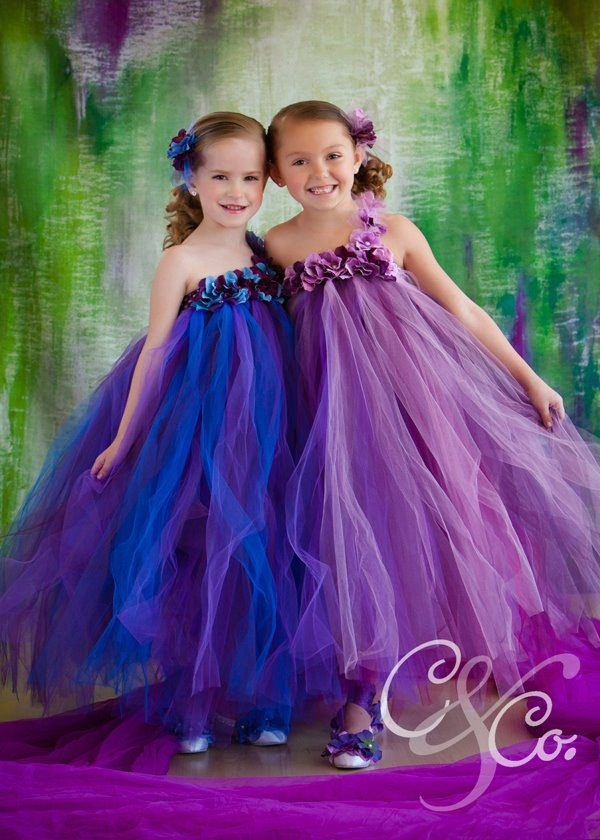 Purple pearl flower girl tutu dress purple tutu dress by gurliglam. $87.00 USD, via Etsy.
