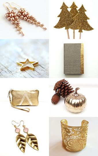 Let it gold! by Mandarina on Etsy--Pinned with TreasuryPin.com