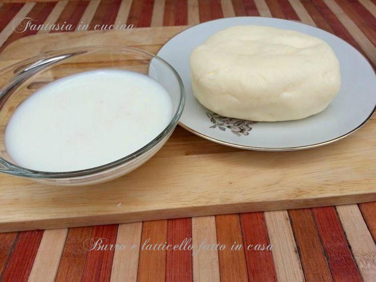 Burro e lattcello fatti in casa, poche e semplici regole su come ottenere questi due prodotti, con la certezza della genuinità.