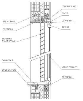 #Finestre dwg - finestre legno | #architettura #edilizia