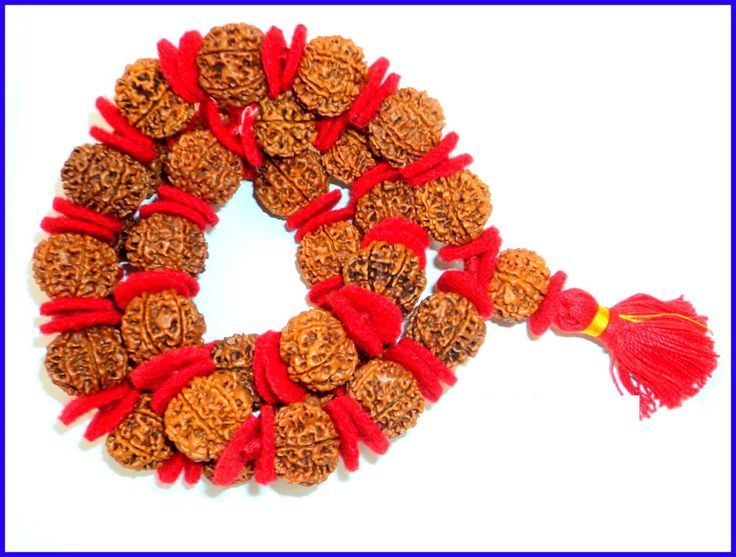 7 Mukhi Rudraksh Kantha Mala  - 33 bead - JAVA by RudrakshaJava on Etsy