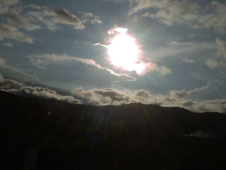 Atardecer Restrepo valle del Cauca colombia